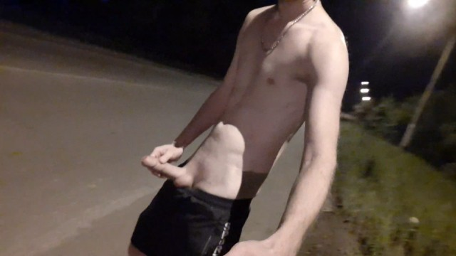 1031 doc gay road lakeland florida Russian guy impatient to masturbate dick right on the road