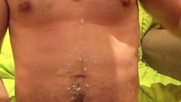 Amateur with huge cumshot mastery #2 two cumshots in rapid succession