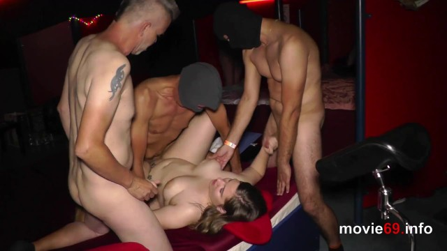 Hot sexy lesbian gang bang 19yo fraya adult in a private gangbang party