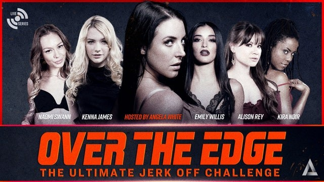 Adult toy2 Adult time angela white hosts over the edge jerk off edging challenge