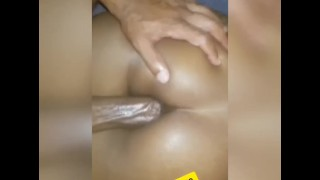 Just turned 18 fucking her creamy pussy and deep anal for street meat assho