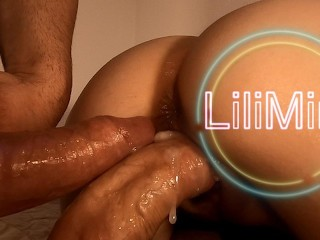 Lilimini – Double vaginal creampie with Covid masks