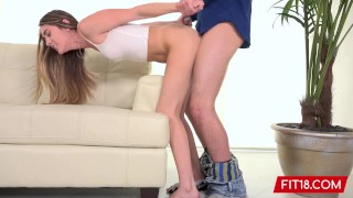 FIT18 – Mackenzie Mace – Point Of View Casting Of Petite American Teen