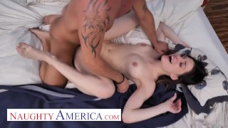 Kamryn Jayde fucks her friend's dad