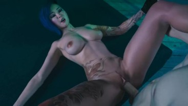 Broken Dreams:Tattoed Asian Girl is Paying With Her Pussy-Ep 3