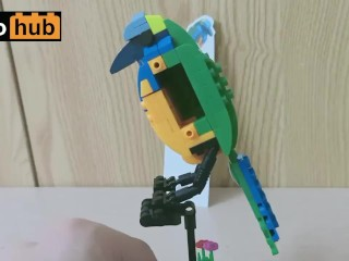 You're about to fap to a colorful attractive Lego bird