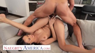 Naughty America – Eliza Ibarra fucks her married boss