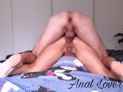 BEST ROUGH PRONE BONE ANAL CREAMPIE, MY TINDER DATE HAVEN'T PITY FOR MY ASS