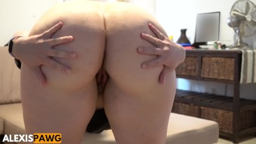 Perfect BBW Pawg Showing off Juicy Jiggly Ass + Ass Worship!
