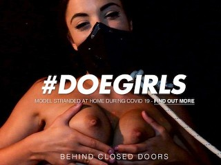 DoeGirls – Hot Wax Fetish Bondage With Spanish Teen Anastasia Brokelyn