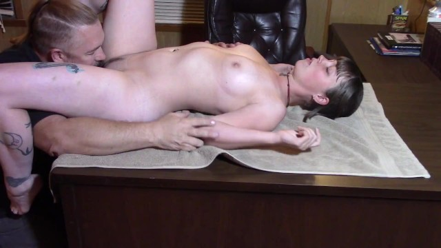 Straight man using a dildo Teen being used by older man in every way lavender joy choked and abused