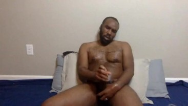 Watch me Pour Hot Oil on my BBC as I Edge Until I Explode