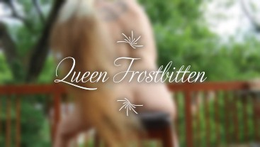 Queen teases you naked with her hair (tease)