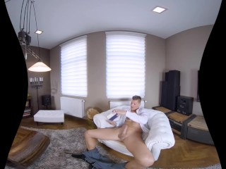 Blowjob Anniversary with Claudia Macc in VR