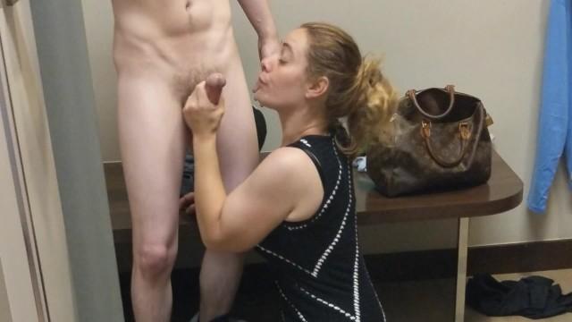 Change brain transgender Huge loads of cum on store dress in public changing room