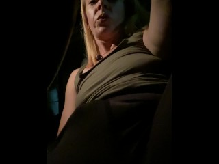 Bored And Extra Horny – Stuck In My Car So I Masturbated In A Parking Lot