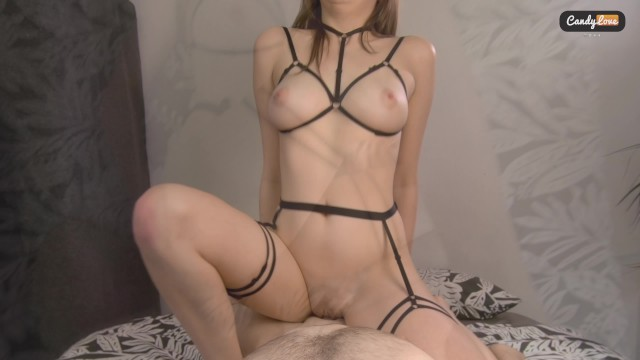 I love sex and candy Cute babe fucks with passion. hard missionary fuck with a great ending. pov
