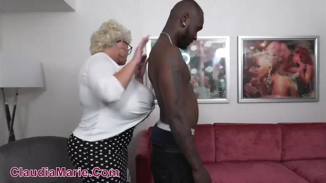 Longs black dick Claudia marie impregnated by foot long black cock