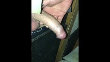 Gloryhole and its a grower!! Watch it spunk.