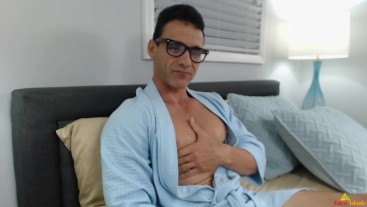 Sexy Nerd in Bedroom Eden Adonis