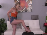Alpha Stepdaughter Kay Carter Dominates Her Wimp Stepfather