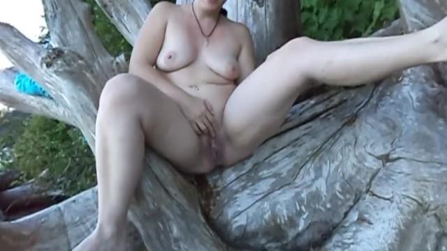 Nature nude free pics Watching my beautiful goddess wife enjoy herself wild free among nature