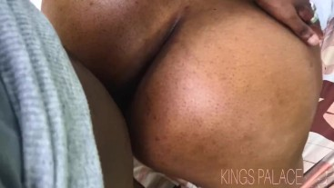 KITTEN DEEPTHROATS AND CREAMS ON DADDYS DICK IN THE PARK