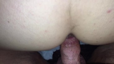 Mature Milf loves Anal creampie and pushing cum out
