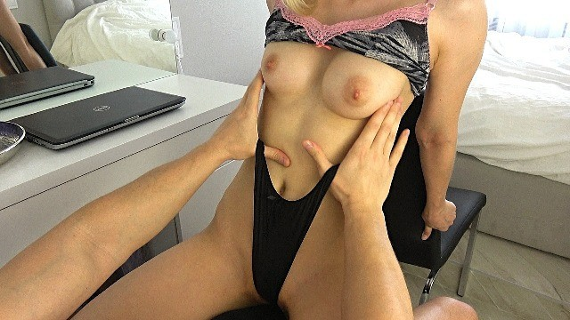 You porn top free Stop working and let me ride you