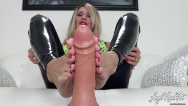 Your Cock Between My Soles - Nikki Ashton