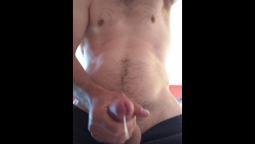 Amateur with huge cumshot mastery #13 huge facial/ mouth full female pov