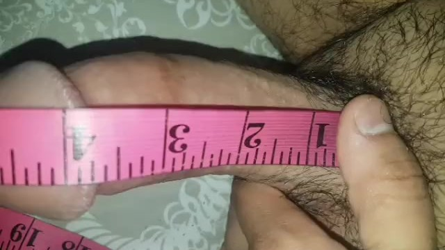 Average male penis length according to race Circumsized micropenis gets girth and length measured up close