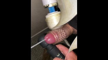 Gloryhole, cute arse, pumped, loaded, wanked him off. Nice lad.