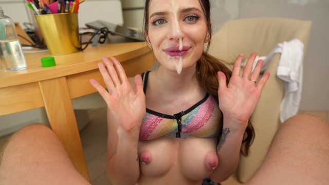 Facial first timers Huge facial and really sloppy bj for neighbor - student reislin
