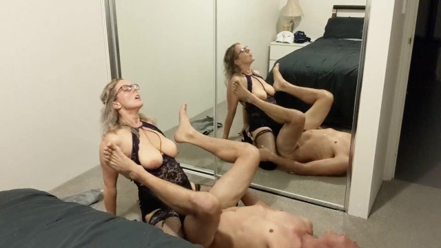 Watch free sex full length movie Empowering pegging session in front of full length mirrors - min moo