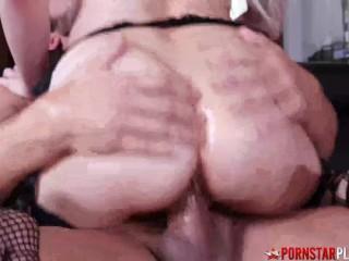 PORNSTARPLATINUM Busty Babe Skylar Vox Fucked By Hung Stud