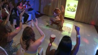 DANCING BEAR – Kendra Lane's Bachelorette Party Was Off Da Chain!!!