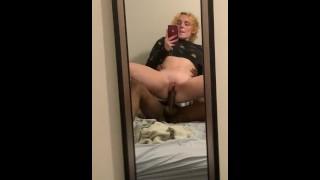 reverse cowgirl mirror views