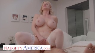 Naughty America - Casca Akashova fucks the neighbor's son