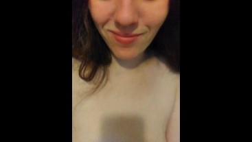 Short Clip of Fart Obsessed Camgirl That Ate Beans & Has STINKY Farting Flatulence Gas Toots