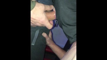 Cheeky lippy sub. Facefucked by me and mate.