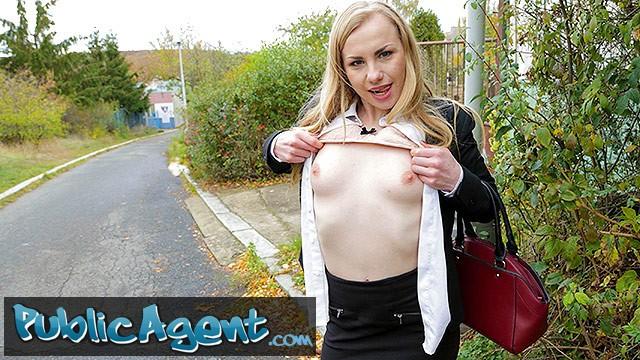 Agent Public Blonde Teen Woman Details