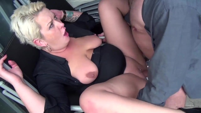 Public slut videos German- amateur sex video, 3some taking a slut from the street to fuck her ass