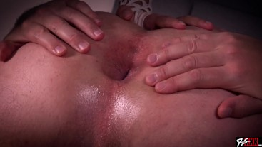 Milking Rimming Prostate Massage with a Shot of Cum - Remastered