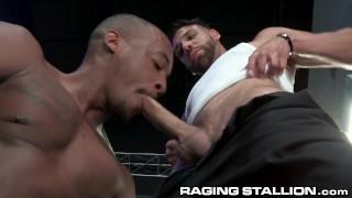 RagingStallion - Towel Boy FX Rios Wants More Than A Tip