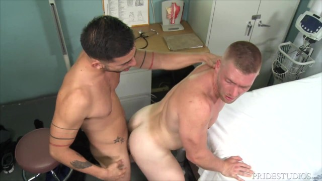 Mature gay stories doctor Pridestudios - hot doctors sneak away for hospital fuck