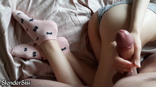 Kitty teen pink Skinny girl kitty fucked my dick in cute socks for a long time slendersisi