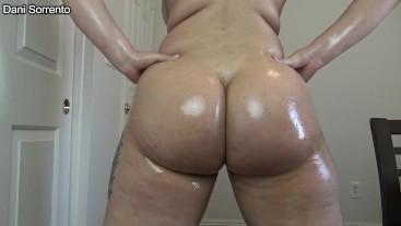 Stroke To My Oiled Up Clenching Cheeks- A Dani Sorrento custom clip