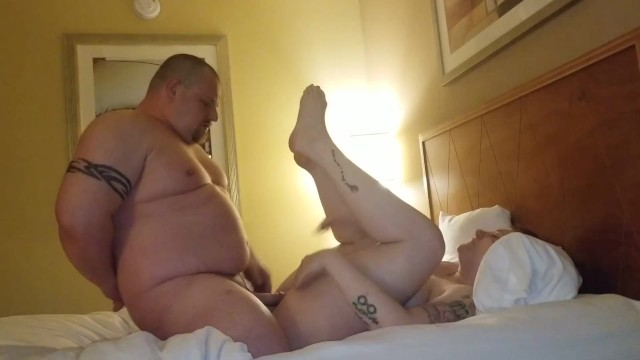 Tall women short men sex Chubby guy pounds his slutwife missionary
