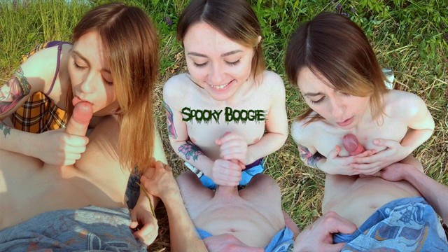Boogie woogie lesbian scenes Cum on my titties and face virgin teen has blowjob/titjob for the first time 4k pov public outdoor